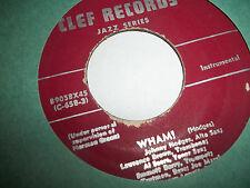 """JOHNNY HODGES WHAM / COME SUNDAY 1953 7"""" CLEF 89058 RARE 45 EXCELLENT"""
