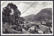 BERGAMO SAN PELLEGRINO TERME 92 Cartolina 1940 REAL PHOTO