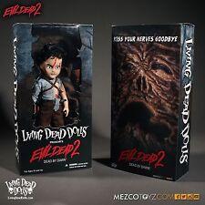Living Dead Dolls Evil Dead 2 Ash Williams doll/figure~Bruce Campbell~Nib