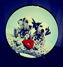 A Spot In My Heart.Those Delightful Dalmatians Plate Collections.Free Shipping !