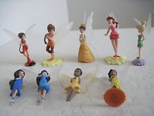 Lot of 9 DISNEY FAIRY Collectiion Figures