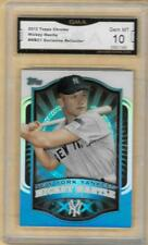 2012 TOPPS CHROME MICKEY MANTLE MBC1 EXCLUSIVE REFRACTOR GEM MINT 10
