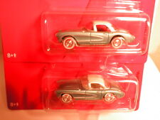 Johnny  Chevy Thunder 1957 CORVETTE regular & white lightning chevrolet vette