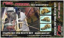 Engine Set for M1070 HET 1/35 RMA35231 resin detail set Hobby Boss Real Model
