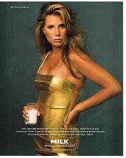 PUBLICITE ADVERTISING  1997   USA  MILK  DAISY FUENTES  lait