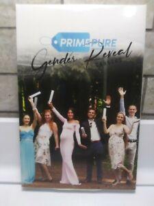 Premium Gender Reveal Confetti Cannon - Set of 4 - Heart Shaped Confetti x4...