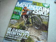 What Mountain Bike MAGAZINE -AUGUST 2012