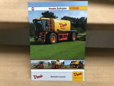 Vredo self-propelled agricultural Trac vehicle VT3936 brochure
