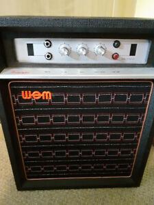 WEM Westminster vintage value guitar amplifier 1970s RSPCA Middlesex/Herts