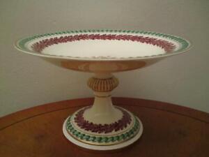 Antique Victorian W.T Copeland & Sons Spode Porcelain Compote c.1851-85