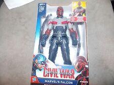 Capitan America Civil Wars ,12 inch Talking Falcon Figure + Star lord GOTG Vol 2