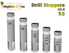 5 X Dental Implant STOPPERS Ø 2.0 For Drills Surgery Instrument dentalist