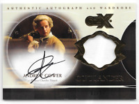 Cryptozoic Outlander CZX Auto Autograph Costume Relic Card Andrew Gower # 01/80
