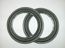 "Bulk 10 pack ( only 2 shown )  of  6"" foam surrounds for BOSE,YAMAHA,MISSION etc"