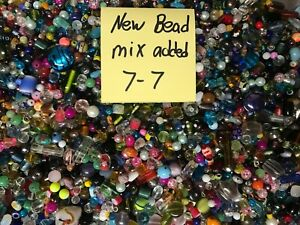~200~ Piece Glass Loose Beads Bulk Mixed Lot Craft Jewelry Grab Bag!!!!!!!!!!!