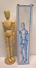 "YazyCraft Wooden Manikin Male 12"""