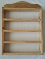 Herbs Spices Wall mounted wooden rack 24 count Storage spots