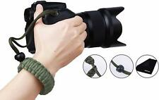 PROWITHLIN Universal Braided Para cord Adjustable Camera Wrist Strap for DSLR SL