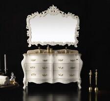 Designer Doppelwaschtisch Waschtisch Luxus Marmorplatte Waschtische badmöbel NEU