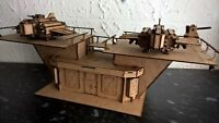 Fighter pad warhammer 40k wargame infinity building terrain scenery Legion 28mm