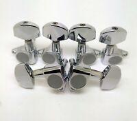 6 Pcs Jin Ho J01 Guitar Tuning Pegs Tuners Machine Heads 3L+3R Chrome