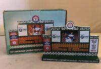 Texas Rangers 2010 A.L. Pennant Scoreboard Replica
