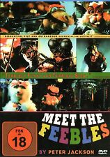 Meet the Feebles , DVD Region2 (UK & Europe) , 100% uncut , Peter Jackson