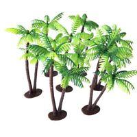 Leaf Fake Micro Landscape Miniature Artificial Plants Coconut Palm Tree