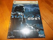 HALO 3 ODST Prima Official Guide XBOX 360 X-Box Live Official Strategy Book NEW
