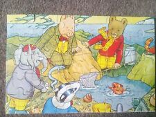 Vintage Wooden Rupert Fishing with Friends 30 Piece Jigsaw