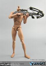 "ZYTOYS Weapon Model 1/6 Black 17cm CrossBow Arrow Set F 12"" Male & Female Figure"