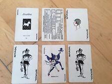 Vintage Scotty Dog Single Swap Playing Cards ~ 6 ~ Jokers!
