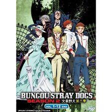 Bungo Stray Dogs Season 2 Vol. 1-12 end Japan Anime DVD New Box Set English Sub