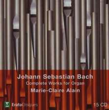 Marie-claire Alain - Bach, Js: Complete Organ Works (0825646990283) NEW CD