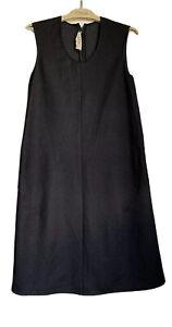 Marni,  Black, Technical Fabric, Sleeveless, A-line Shift.   Size IT 40.
