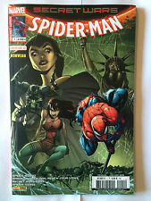 PANINI COMICS SECRET WARS SPIDER MAN N°1 JANVIER 2016 COVER 1/2 RAMOS NEUF