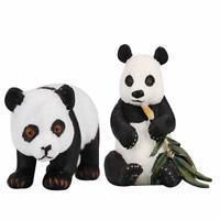 Plastic Animal Model Action Figure Cute Panda Toy for Kid Children Birthday Gift