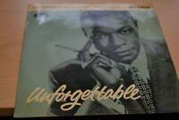 "NAT KING COLE    UNFORGETTABLE  EP  7"" SINGLE   CAPITOL RECORDS   MONO  EAP20053"