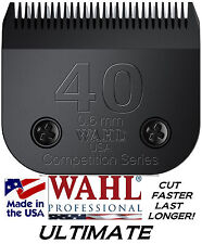 WAHL ULTIMATE COMPETITION Pet Grooming # 40 BLADE 6mm*Fit Oster A5 A6 Clippers