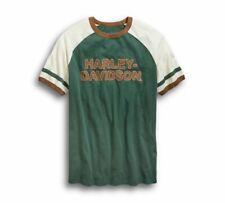 HARLEY-Davidson Skull Garage Short Sleeve Shirt Taglia XL-Camicia Maniche corte Grigio