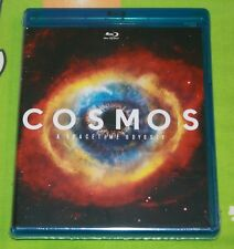 BRAND NEW SEALED Cosmos: A Spacetime Odyssey (Blu-ray Disc, 2014, 4-Disc Set)