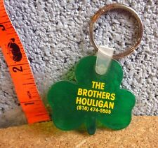 BROTHERS HOULIGAN Irish keychain Tulsa shamrock Oklahoma restaurant
