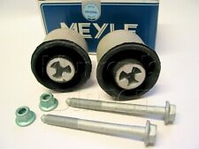 MEYLE MODIFIED Rear Axle Bushes & Bolts Latest Version VW Mk4 Golf Bora Audi A3