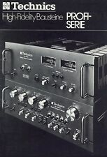 Technics SU-8600 ST SE-9600 SH-9090 SP-10MK2 SB-7000 b&w PAPER COPY of brochure