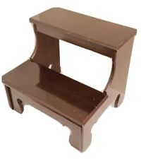 The Bombay Company Wood Library Pet Bed Step Stool Stairs Vintage