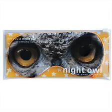 Night Owl Travel Eye Mask Blindfold Sleeping Cover Shade Sleep by Annabel Trends