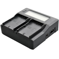 LCD Quick Battery Charger for JVC SSL-JVC50 SSL-JVC70 GY-HM600 HM650 GY-HM610K
