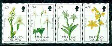 FALKLAND ISLANDS 531-34 SG629-32 MNH 1991 Orchids set of 4 Cat$9
