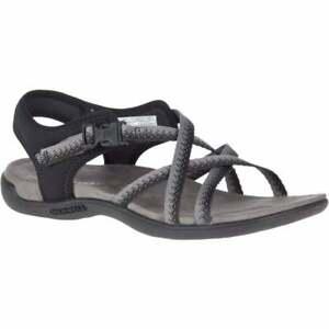 Merrell District Muri Lattice Black / Charcoal (Z19) J000118 Ladies Sandal