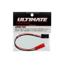 Ultimate RC Adapter Kabel 10cm BEC - Futaba Stecker Buchsen